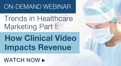 Trends in Healthcare Marketing Part I: How Clinical Video Impacts Revenue
