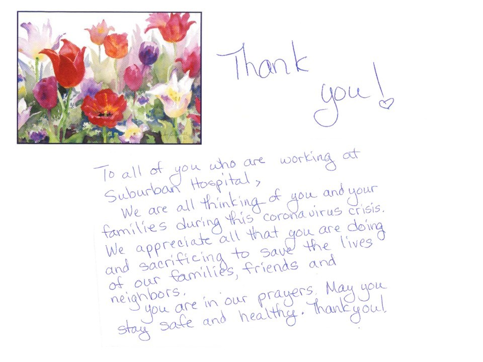 thank note