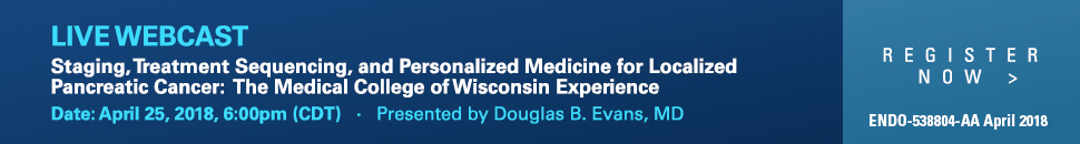 Staging Treatment Sequencing and Personalized Medicine for Localized Pancreatic Cancer the Medical College of Wisconsin