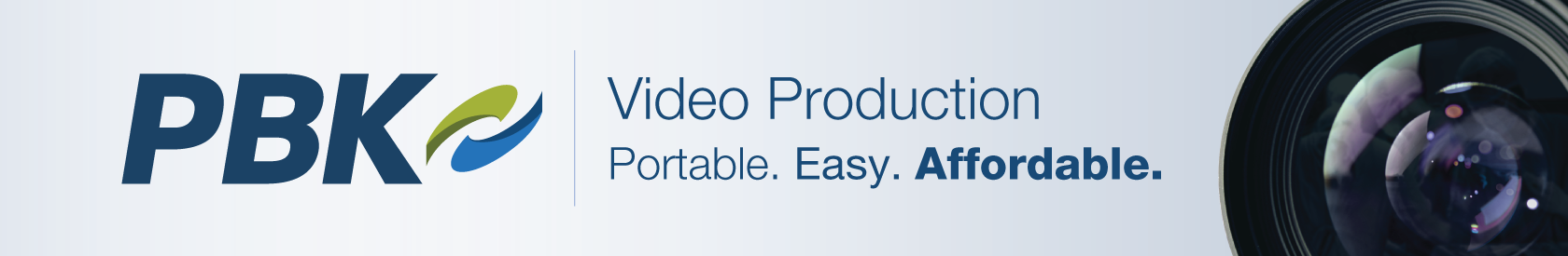 PBK - Video Production - Portable. Easy. Affordable.