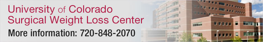 University of Colorado Surgical Weight Loss Center - More Information