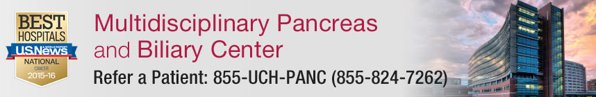 Multidisciplinary Pancreas and Biliary Center - Refer a Patient